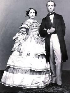 Prince Maximilian and Princess Charlotte