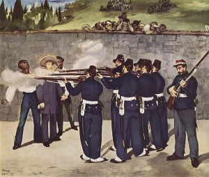 Execution of Maximilian-Edouard Manet