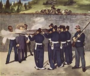 Execution of Maximilian-Edouard Manet