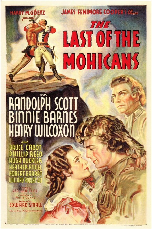 The Last Of The Mohicans 1936 187 Historyonfilm Com