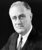 How has Hollywood treated Franklin Delano Roosevelt (FDR)?