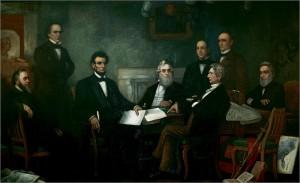 Emancipation Proclamation Cabinet