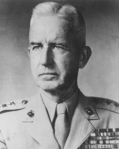 Major General O. P. Smith
