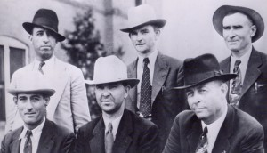 Top (left to right) Hinton, Oakley, Gault Bottom (left to right) Alcorn, Jordan and Hamer