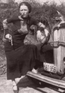 Bonnie Parker Cigar 1933