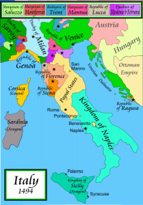 Map taken from Wikipedia, created by MapMaster