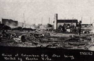 Columbus after the raid