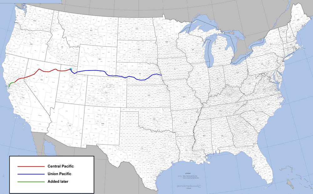 Transcontinental Railroad Timeline historyonfilmcom