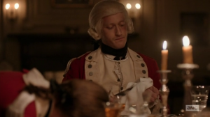 Simcoe after he stabbed a man during dinner.